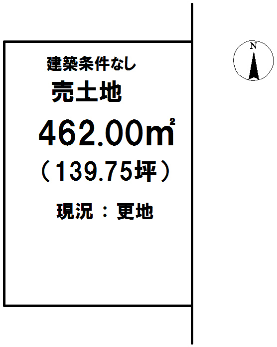 延岡市川島町【区画図】画像1