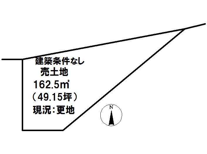 延岡市富美山町【区画図】画像1