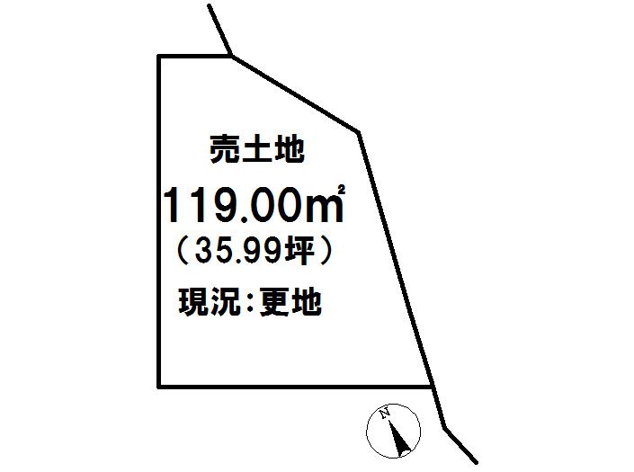 延岡市粟野名町【区画図】画像1