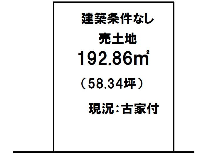 延岡市古川町【区画図】画像1