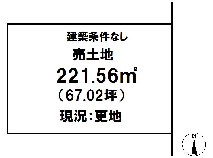 延岡市鶴ケ丘2丁目[分譲区画 2]【区画図】画像1