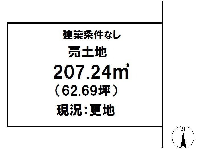 延岡市鶴ケ丘2丁目[分譲区画 3]【区画図】画像1