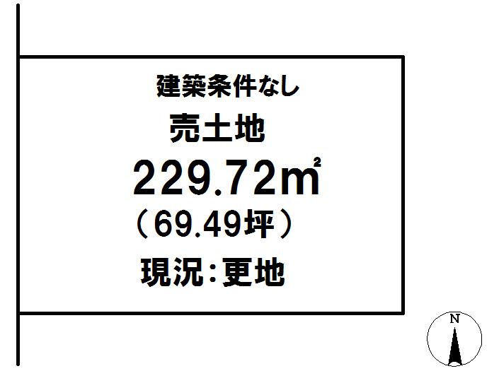 延岡市鶴ケ丘2丁目[分譲区画 6]【区画図】画像1