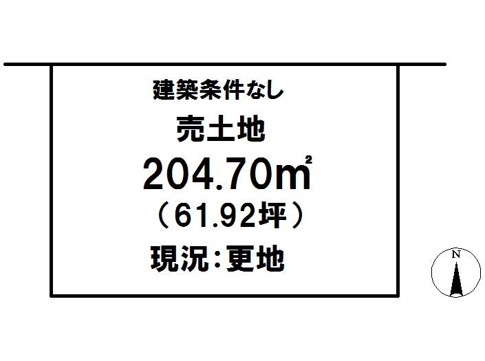 延岡市鶴ケ丘2丁目[分譲区画 9]【区画図】画像1