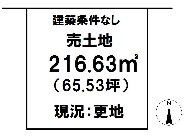 延岡市鶴ケ丘2丁目[分譲区画 32]【区画図】画像1