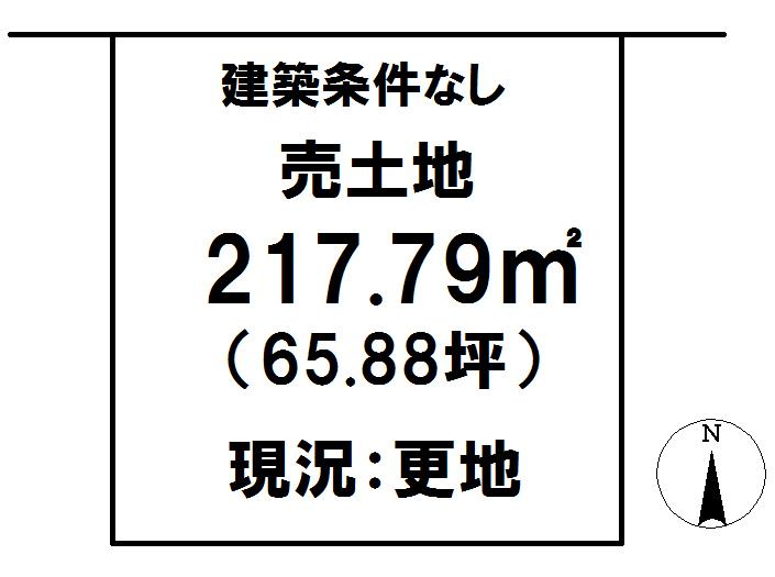 延岡市鶴ケ丘2丁目[分譲区画 34]【区画図】画像1