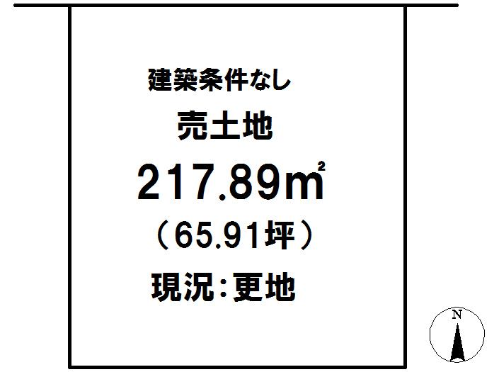 延岡市鶴ケ丘2丁目[分譲区画 36]【区画図】画像1
