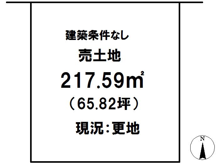 延岡市鶴ケ丘2丁目[分譲区画 37]【区画図】画像1