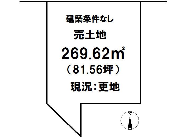 延岡市鶴ケ丘2丁目[分譲区画 38]【区画図】画像1