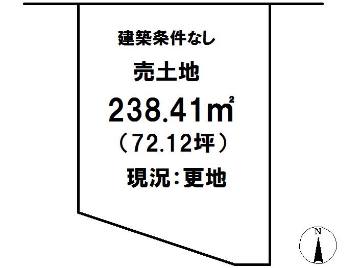 延岡市鶴ケ丘2丁目[分譲区画 39]【区画図】画像1