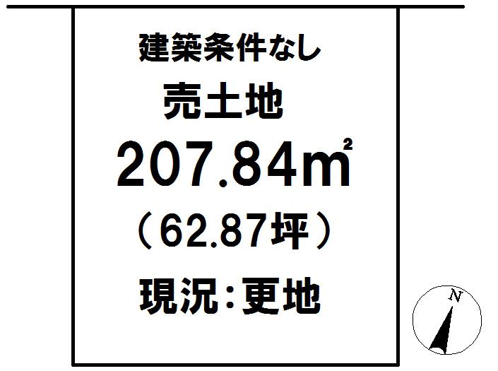 延岡市鶴ケ丘2丁目[分譲区画 47]【区画図】画像1