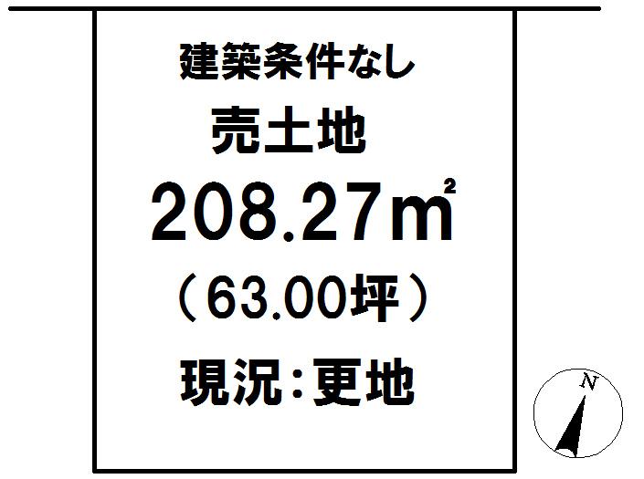 延岡市鶴ケ丘2丁目[分譲区画 48]【区画図】画像1