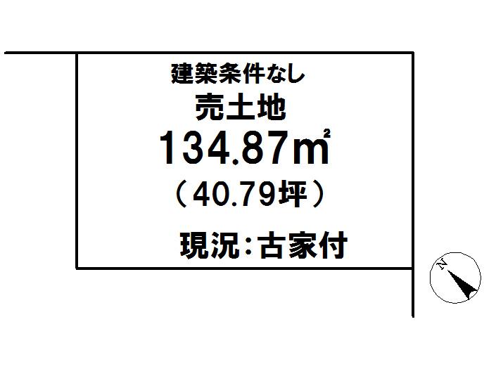 延岡市鯛名町【区画図】画像1