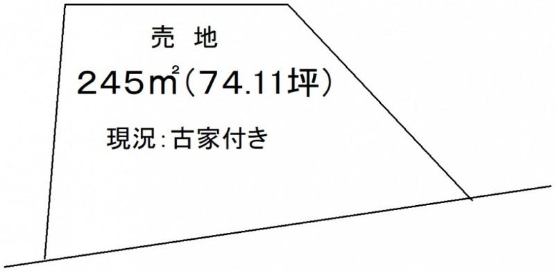 延岡市伊形町【区画図】画像1