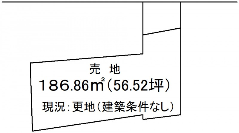 延岡市沖田町【区画図】画像1